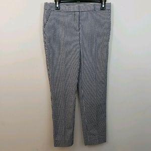 Anne Klein Blue Striped Pants Trousers